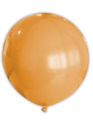 Globo gigante de color naranja