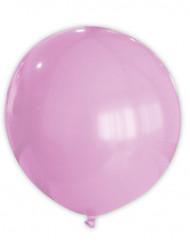 Globo gigante de color rosa