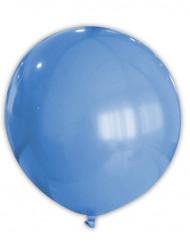 Globo gigante de color azul