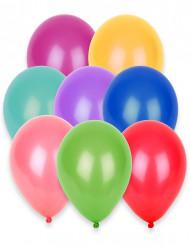 100 globos de diferentes colores de 27 cm