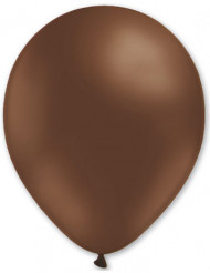 100 globos de color marrón de 27 cm