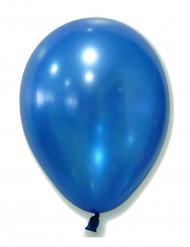 100 globos azul metalizado 29 cm