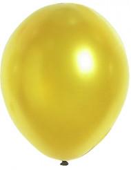 Globos metálicos color oro 29 cm