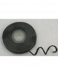 Rollo rafia hilo metálico negro 10 m