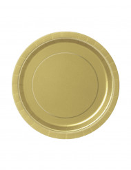 Platos dorados