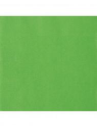 20 servilletas papel verde lima 33 x 33 cm