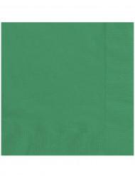 Servilletas verde esmeralda