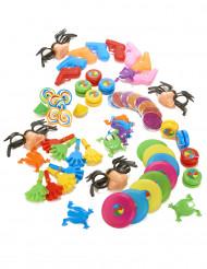 64 Mini juguetes piñata
