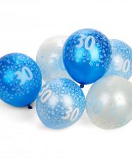 Globos azules 30 años