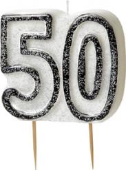 Vela edad 50 años gris