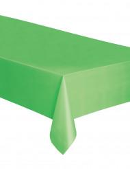 Mantel rectangular plástico verde lima