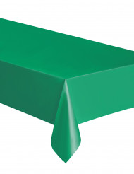 Mantel rectangular verde esmeralda