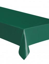 Mantel rectangular verde oscuro