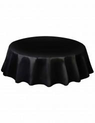 Mantel redondo plástico negro