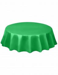 Mantel redonde verde esmeralda