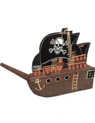 Piñata barco de pirata 27 x 31 cm