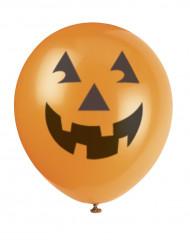 6 globos Halloween