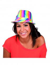 Sombrero multicolor lentejuelas