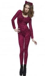 Disfraz de leopardo rosa