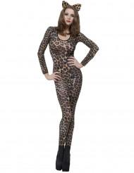 Disfraz de leopardo marrón