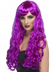 Peluca violeta