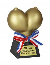 Trofeo pechos de oro