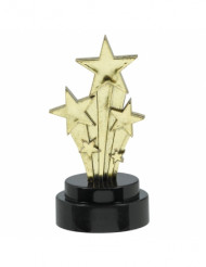 6 Estatuas estrellas Hollywood 7,5 cm