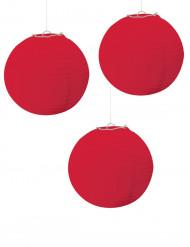 3 Farolillos rojos