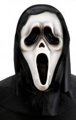 Máscara de fantasma asesino luminosa adulto