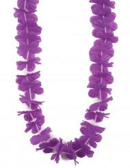 Collar Hawái violeta