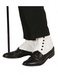 Cubre zapatos blancos adulto