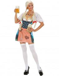 Delantal bávaro mujer