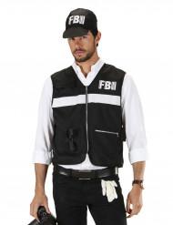 Disfraz de policía de FBI adulto