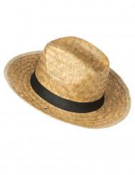 Sombrero Cowboy  de paja para adulto