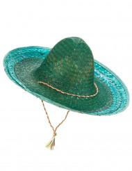 Sombrero mejicano verde