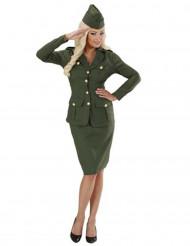 Disfraz de soldado para mujer