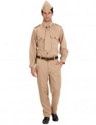 Disfraz de soldado americano adulto
