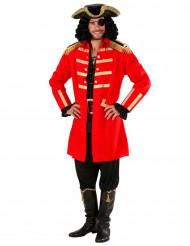 Disfraz de pirata rojo