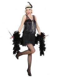 Disfraz de charlestón negro