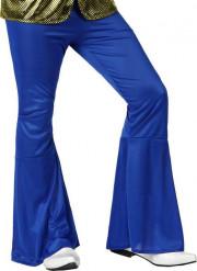 Pantalón disco azul oscuro