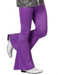 Pantalón disco violeta