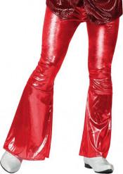 Pantalón disco rojo