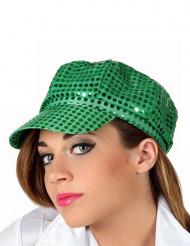Gorra disco verde