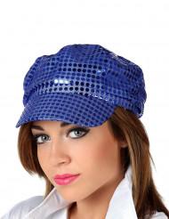 Gorra disco azul
