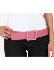 Cinturón brillante rosa