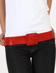 Cinturón brillante rojo