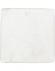 6 Marcadores cuadrado blanco