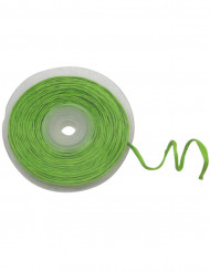 Rollo de rafia hilo metálico verde
