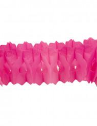 Guirlanda papel fucsia 15 cm x 4 cm