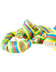 Lote de 3 rollos de 20 serpentidas multicolores